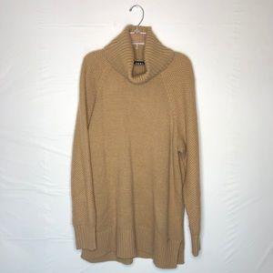 DKNY Beige Turtleneck Long sleeve Sweater